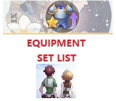 Equipment Set List