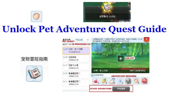 Unlock Pet Adventure Quest Guide