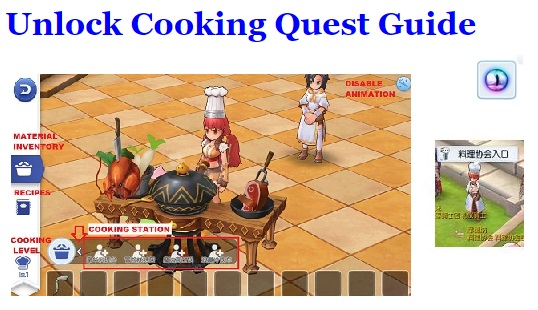 Unlock Cooking Quest Guide