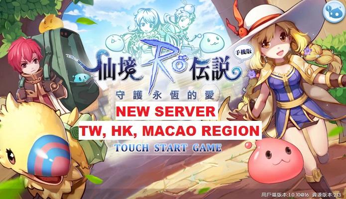 New Mobile RO – Eternal Love Server Region