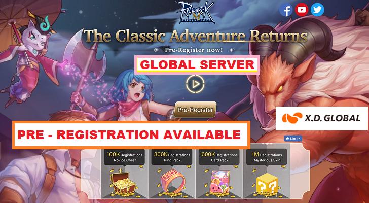 Ragnarok M: Eternal Love Pre-Registration (Global)