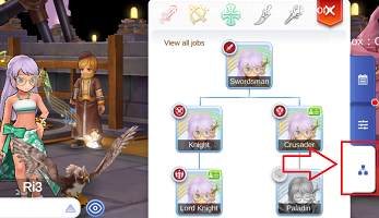 Multi-Job Feature - Ragnarok Online Mobile - Eternal Love (English