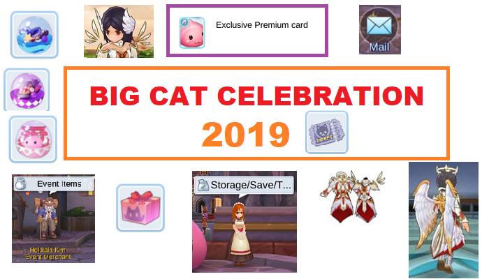 Big Cat Celebration 2019 - Ragnarok Online Mobile - Eternal Love