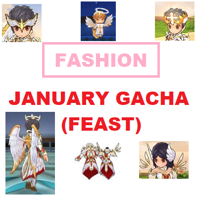 January Gacha Fashion (Feast) 2019